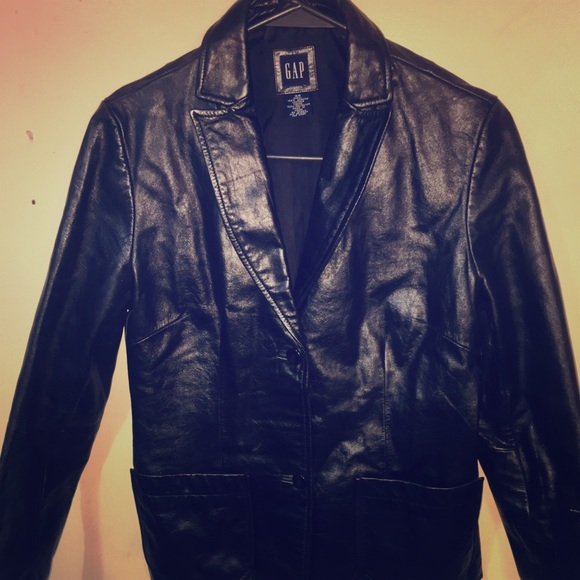 fc103957c GAP Jackets & Coats | Like New 100 Genuine Leather Jacket | Poshmark
